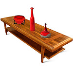 oak coffee tables photo