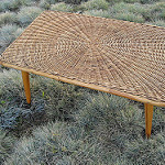 bamboo coffee table photo