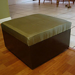 ottoman coffee table photo